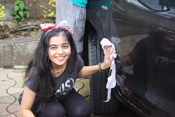 ENVIRONMENTAL CLUB FUND RAISER - CAR WASH -  KAS