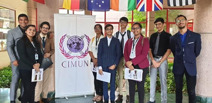 CIMUN 2019 (MOCK UNITED NATIONS CONFERENCE) -  KAS