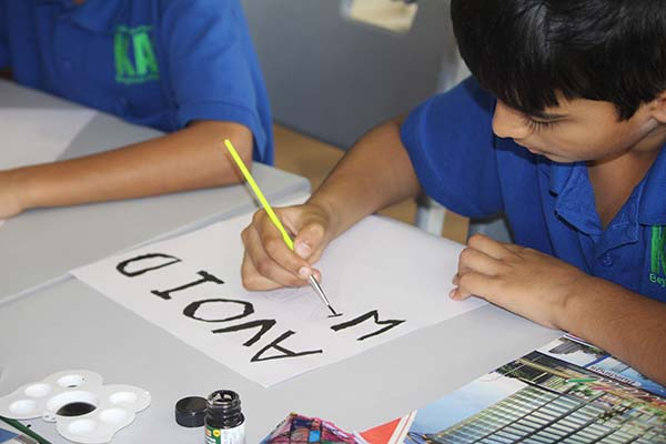 POSTER MAKING COMPETITION -  KAS